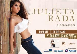 Julieta Rada en Lorente