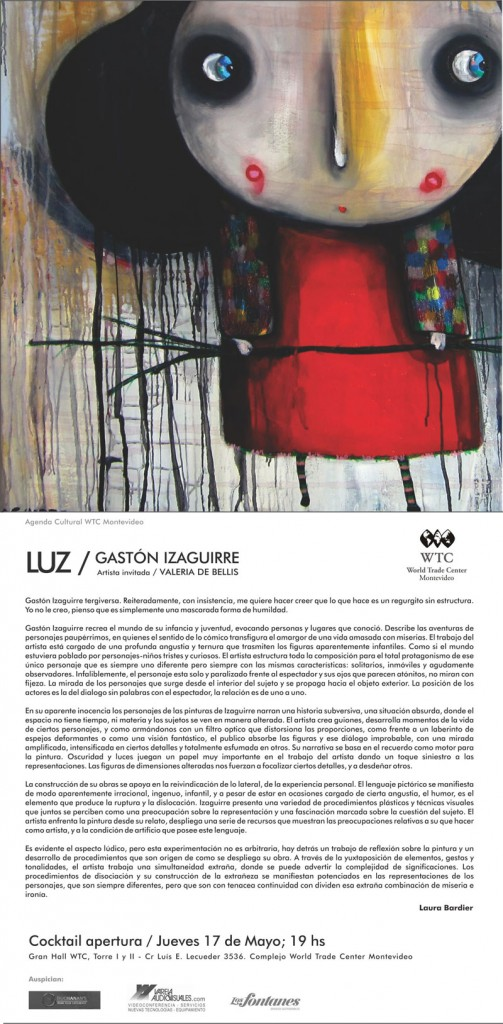 Muestra Izaguirre en WTC